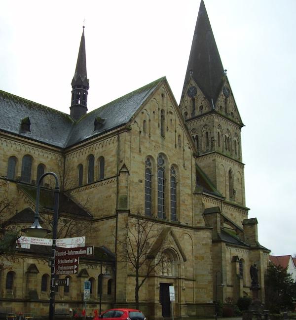 Mettingen - Pfarrkirche